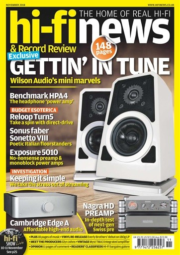 Hi-Fi News Magazine Subscription