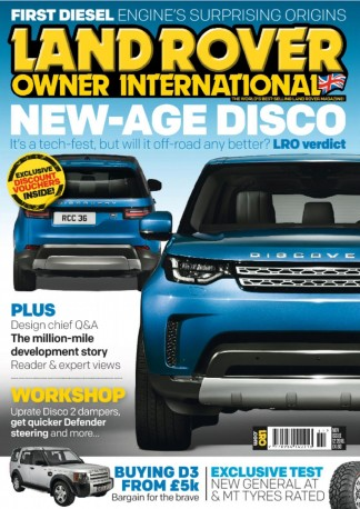 Land Rover Owner International Magazine Subscription
