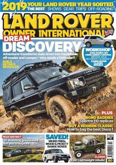 Land Rover Owner International Magazine Subscription