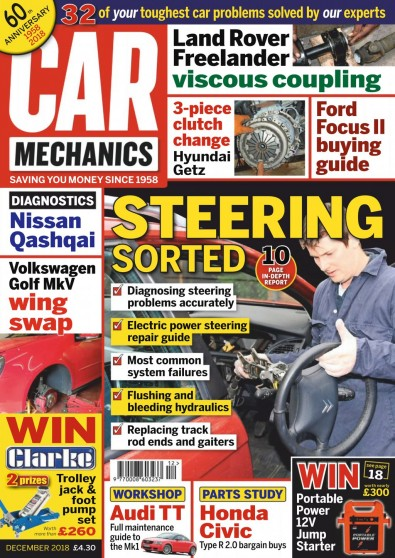 Car Mechanics Magazine Subscription