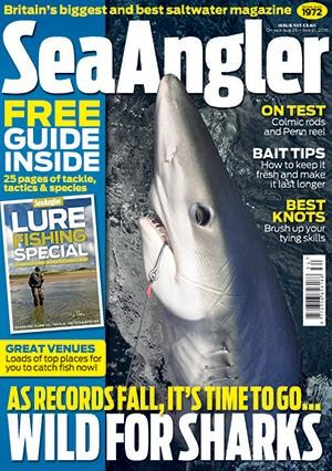 Sea Angler Magazine Subscription
