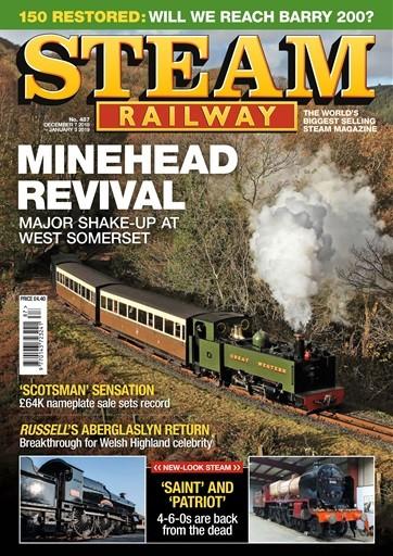 Steam Railway Magazine Subscription