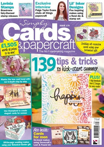 Simply Cards & Papercraft Magazine Subscription