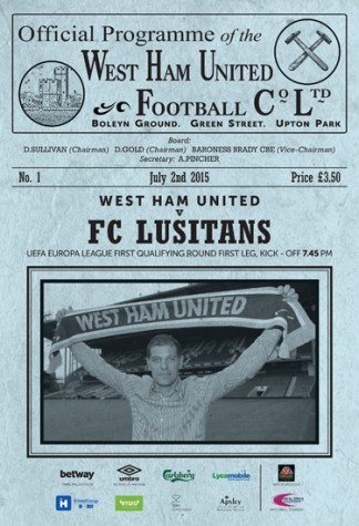 West Ham United Official Matchday Programme Magazine Subscription