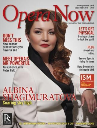 Opera Now Magazine Subscription