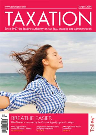 Taxation Magazine Magazine Subscription