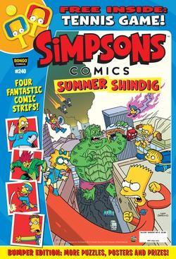 Simpsons Comics Magazine Subscription