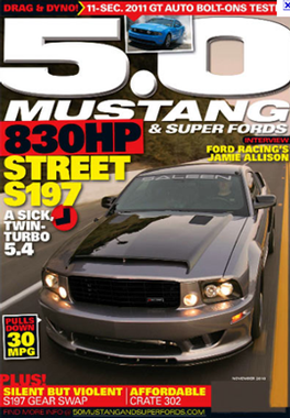 5.0 Mustang & Super Fords Magazine Subscription