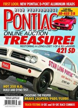 High Performance Pontiac Magazine Subscription