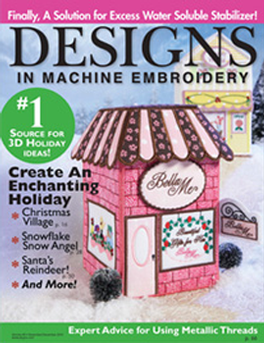 Designs In Machine Embroidery Magazine Subscription