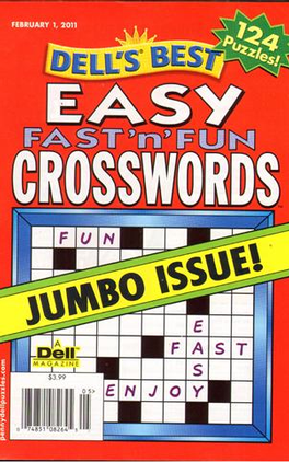 Easy Fast'n Fun Crosswords Magazine Subscription