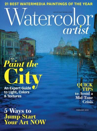 Watercolor Artist Magazine Subscription
