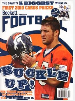 Beckett Football Magazine Magazine Subscription