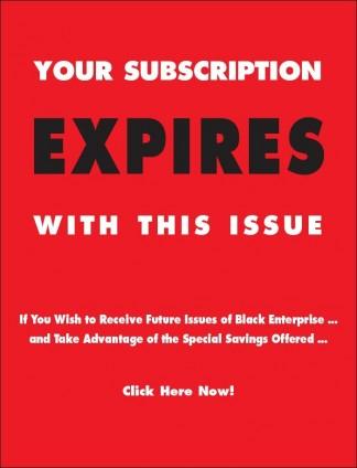 Black Enterprise Magazine Subscription