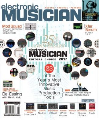 Electronic Musician Magazine Subscription