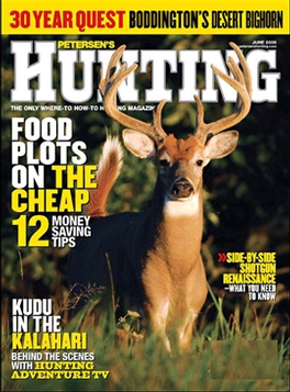 Hunting Magazine Subscription