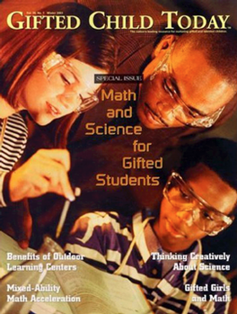 Gifted Child Today Magazine Subscription