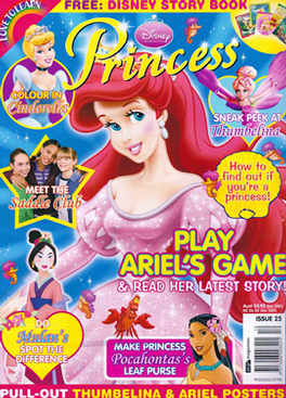 Disney's Princess Magazine Subscription