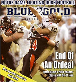 Blue & Gold Illustrated Magazine Subscription