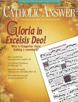 Catholic Answer Magazine Subscription