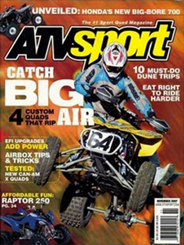 ATV Sport Magazine Subscription