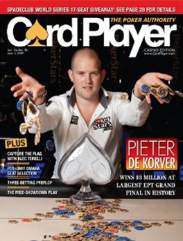 Card Player Magazine Subscription