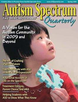 Autism Spectrum Magazine Subscription