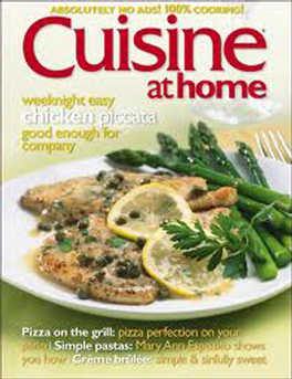 Cuisine At Home Magazine Subscription