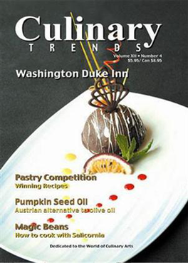 Culinary Trends Magazine Subscription