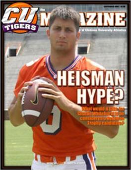 CU Tigers Magazine Subscription