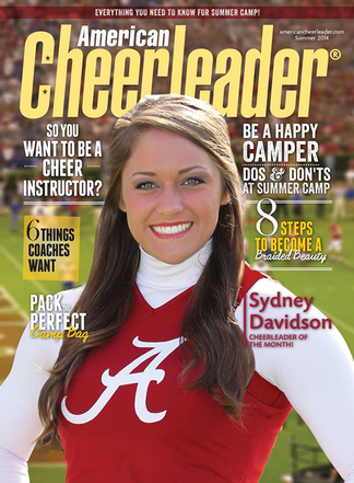 American Cheerleader Magazine Subscription