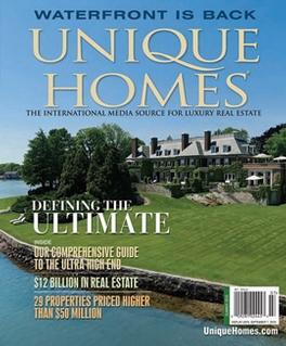 Unique Homes Magazine Subscription