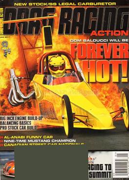 Drag Racing Action Magazine Subscription