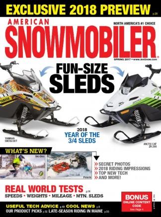 American Snowmobiler Magazine Subscription