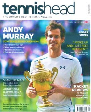 Tennishead Magazine Subscription