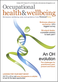 Occupational Health & Wellbeing Magazine Subscription