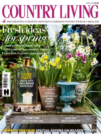Country living magazine subscription whsmith for Country living gardener magazine website