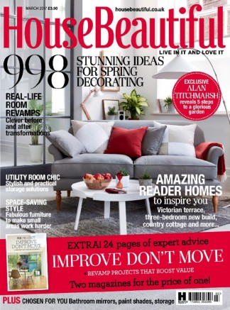 House Beautiful Magazine Subscription Magazines Whsmith