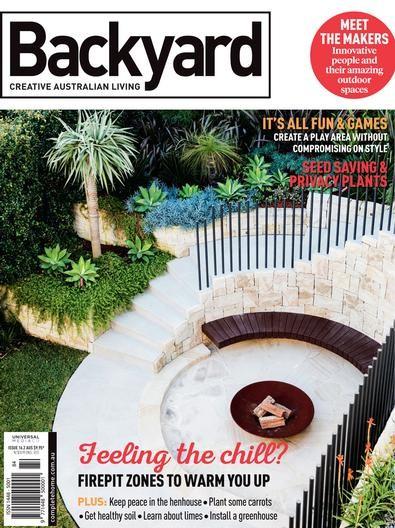 Backyard & Garden Design Ideas Magazine Subscription