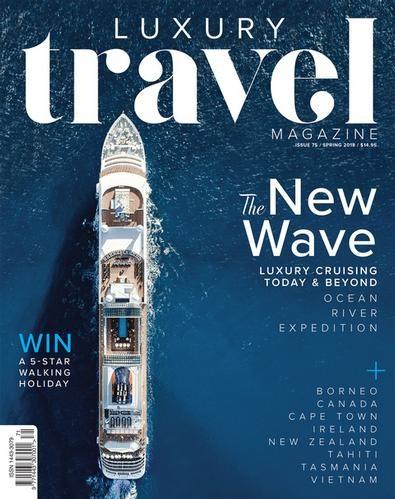 Luxury Travel Magazine Subscription