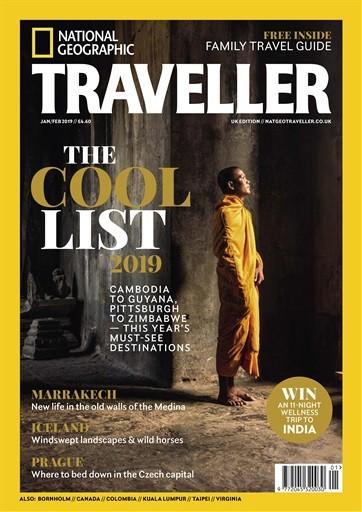 National Geographic Traveller UK Magazine Subscription