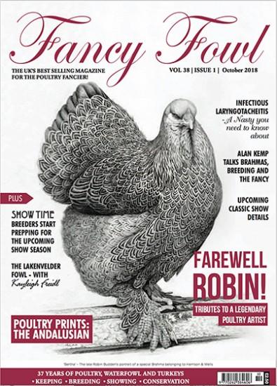 Fancy Fowl Magazine Subscription