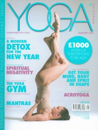 Yoga Magazine Magazine Subscription
