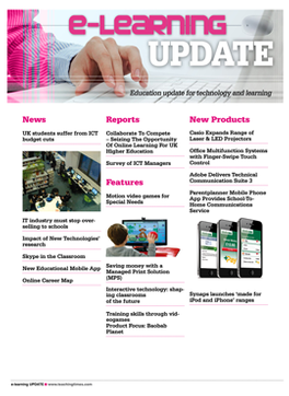 e-Learning Update Magazine Subscription