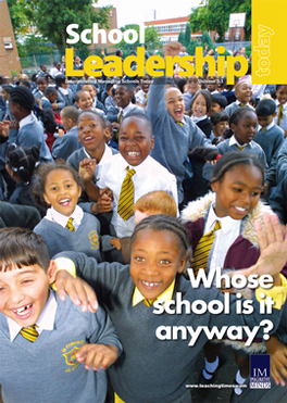 School Leadership Today with Leadership Briefing Magazine Subscription