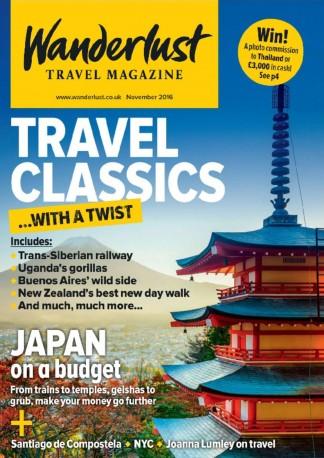 Wanderlust Magazine Subscription