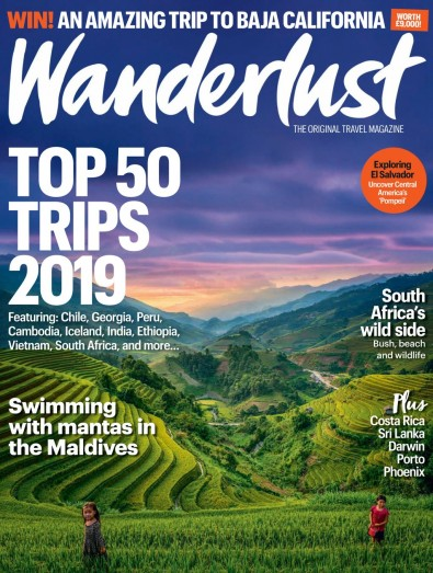 Wanderlust Magazine Subscription
