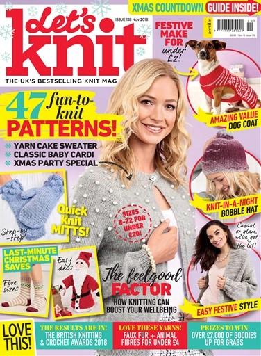 Let's Knit Magazine Subscription