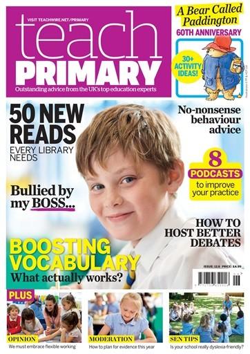 Teach Primary Magazine Subscription
