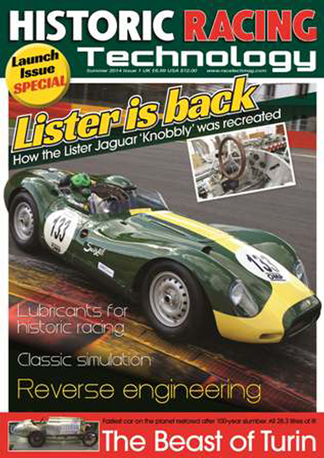 Historic Racing Technology Magazine Subscription
